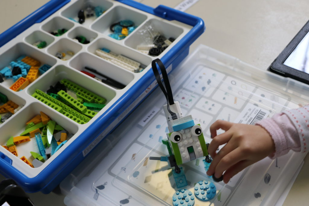 Assembling Pull-Robot 3